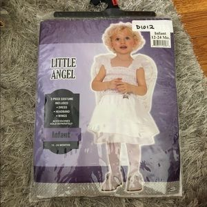 Little angel costume infant 12-24 months NWT